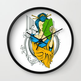 Secrets of the Geisha Wall Clock