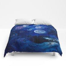 It's Jellyfishing Outside Tonight Comforters
