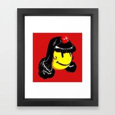 Mistress Pakman Framed Art Print