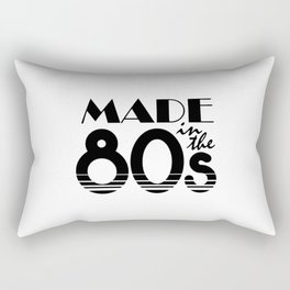 Made In The 80s Rectangular Pillow