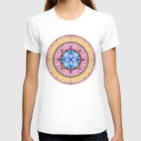 spires T-shirts featuring Castle Spires, kaleidoscope by designoMatt