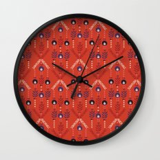 Flora Nativa Wall Clock