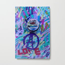 Love & Wynwood Metal Print