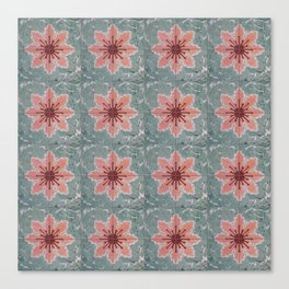 Tile Pattern Mexico I Canvas Print