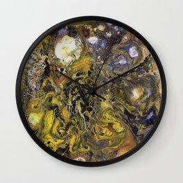 Cosmic Stars Wall Clock