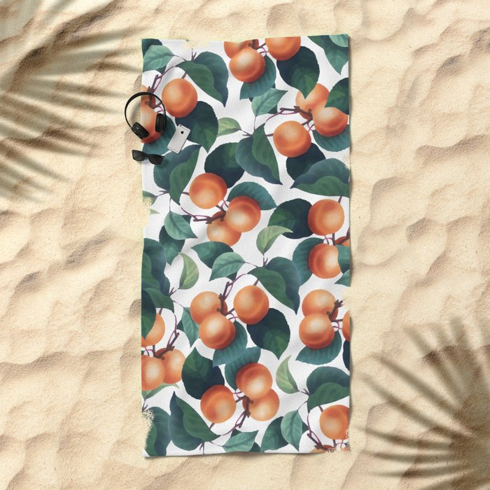 Tropical Fruit #society6 #decor #buyart Beach Towel