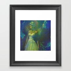 Barbara, the angel of the innocence Framed Art Print