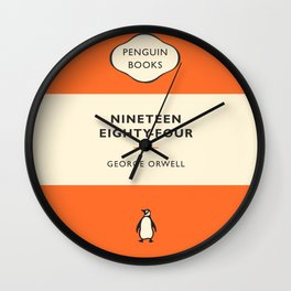 Nineteen Eighty-Four Wall Clock