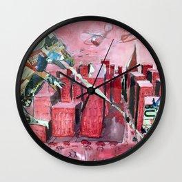 AdZilla Wall Clock
