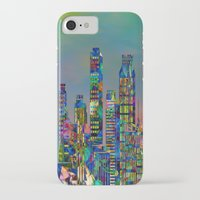 karu kara iPhone & iPod Cases featuring Graffiti City by Klara Acel