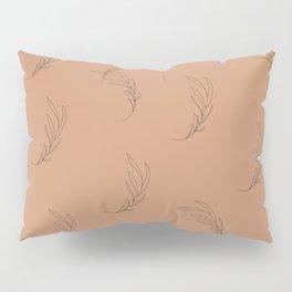 Minimalist leaves, maple Pillow Sham