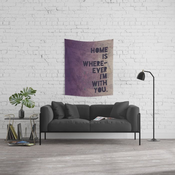 With You Wall Tapestry