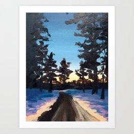 DeWitt Art Print