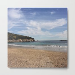 My Maine Beach Metal Print