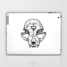 Cat Skull II Laptop & iPad Skin