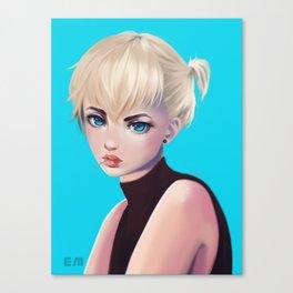 Blue Armin Canvas Print