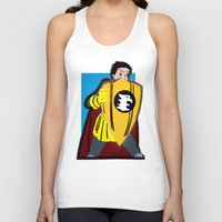 dungeons and dragons Tank Tops featuring DUNGEONS & DRAGONS - ERIC by Zorio