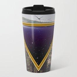 Space Frame Metal Travel Mug