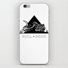 Bull + Bear iPhone Skin