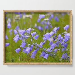 Bluebells Meadow #decor #society6 Serving Tray
