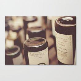 Bottle Bottoms Canvas Print