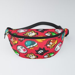 Super Mario World   Enemies Pattern   Red Fanny Pack