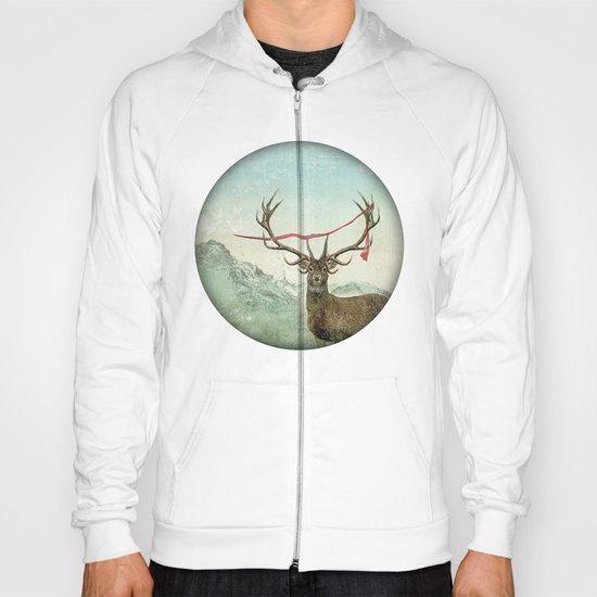 hold deer, tsunami Hoody