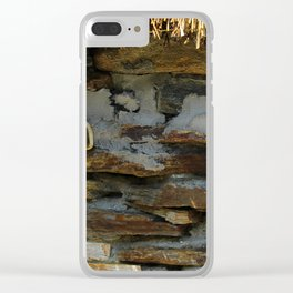 Thatch Roof Ties Donegal Clear iPhone Case