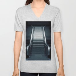 Escalator Unisex V-Neck