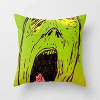 marley Throw Pillows featuring Marley by Zoé Rikardo