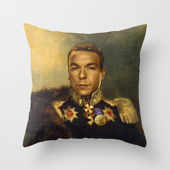 Sir Chris Hoy - replaceface Throw Pillow