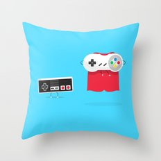 Let's Be Super Together Throw Pillow