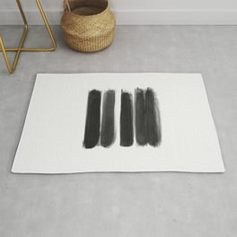 Stripes - No Comment #1 #minimal #painting #decor #art #society6 Rug