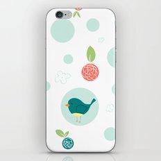 Birds with Polka Dots iPhone & iPod Skin