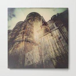Silo architecture Montreal Metal Print