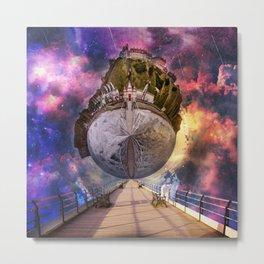 Interstellar Stroll Metal Print