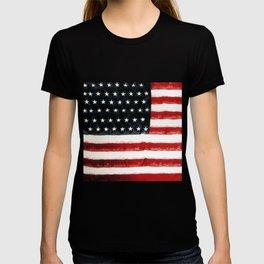 USA Flag ~ American Flag ~ Ginkelmier Inspired T-shirt