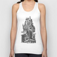 madrid Tank Tops featuring MADRID 360º by DOURONE