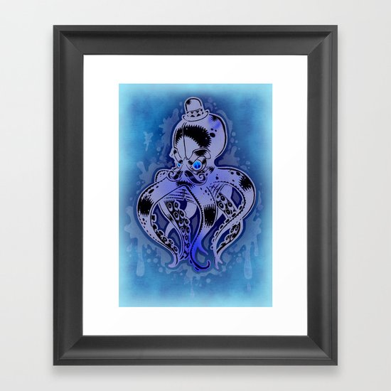 BRAWLER Framed Art Print