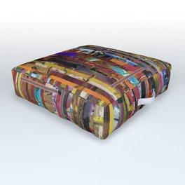 Stripped Outdoor Floor Cushion