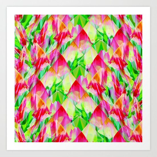 Tulip Fields #119 Art Print