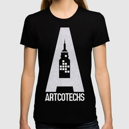 Artcotechsure: The A (white) T-shirt