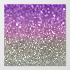 Lilac and Gray Canvas Print