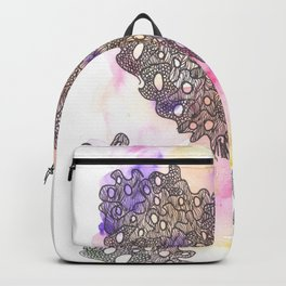 170320 Abstract Watercolor 2  Scandi Micron Art Design Backpack