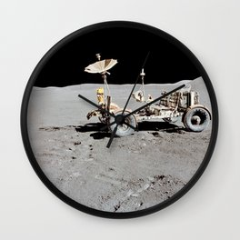 46. This Week in NASA History: First Use of the Lunar Roving Vehicle – July 31, 1971 Wall Clock