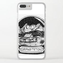 Grand Teton Clear iPhone Case