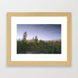 Jenks Lake - Reflection Framed Art Print