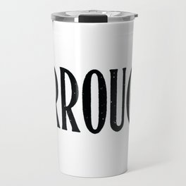 Burroughs Travel Mug