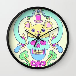 triskaidekaphilia Wall Clock