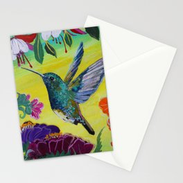 Hummingbird Follow Me  Stationery Cards